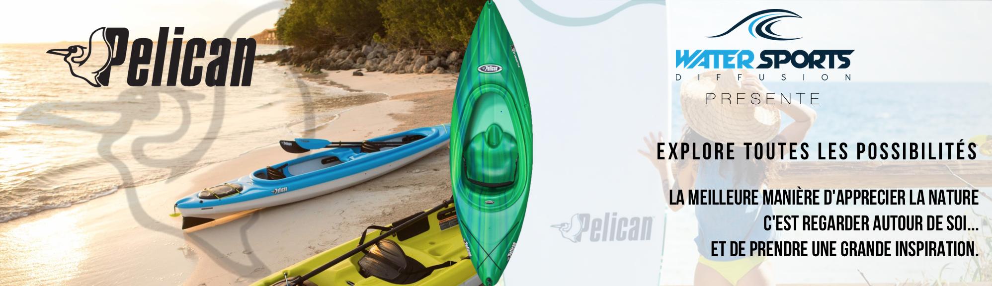 Kayaks sit-on-top