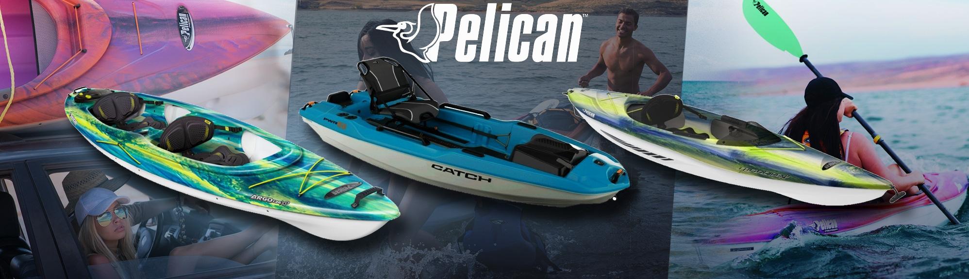 Kayaks pontés