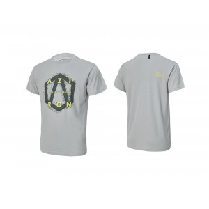 Tee Shirt Aztron full logo grey
