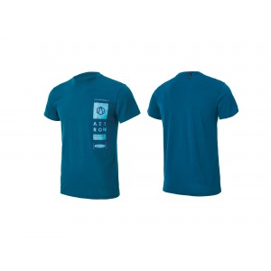 Tee Shirt Aztron double chamber blue