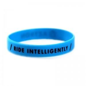 Bracelet silicone Aztron | Bleu