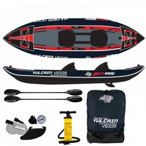 Kayak gonflable 2 places Rockside Vulcain Supercharged