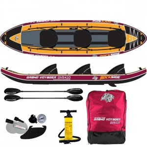 Kayak gonflable 3 places Rockside Grand Voyager Supercharged