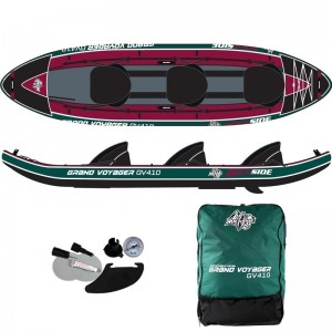 Kayak gonflable 3 places Rockside Grand Voyager