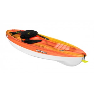 Kayak Pelican Sentinel 100X fade fireman red