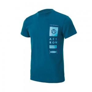 Tee Shirt Aztron double chamber blue
